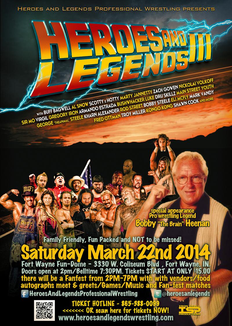 Heroes Legends Wrestling Fan Fest